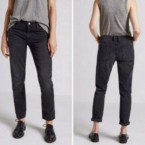 Current Elliot The Boyfriend Fling Jeans in Black